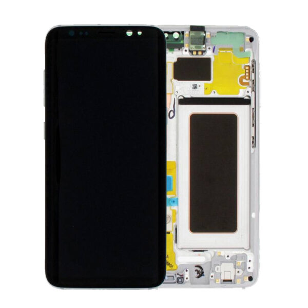 s8 silver lcd