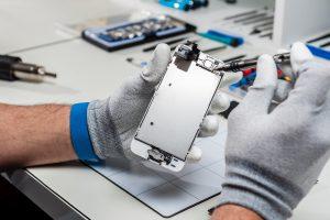 Reparación placa base iPhone