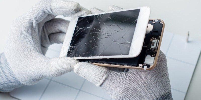 Servicios para cambiar cristal pantalla profesional